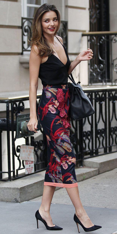 5 Reasons To Get Inspired By Miranda Kerrs Style Wardrobe Detectives
